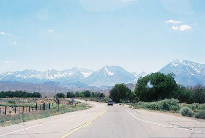 7/1/05 Hwy 168 enroute to South Lake Rd, Eastern Sierra, Inyo County, CA