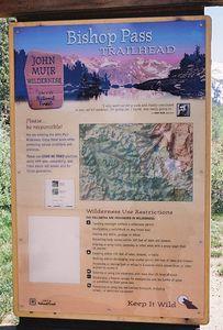 7/1/05 South Lake, Bishop Pass Trailhead