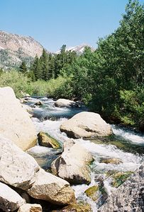 7/1/05 South Fork Bishop Creek, South Lake Road from Hwy 168 to Bishop Creek Lodge & Vicinity