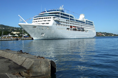 TP docked in Papeete.