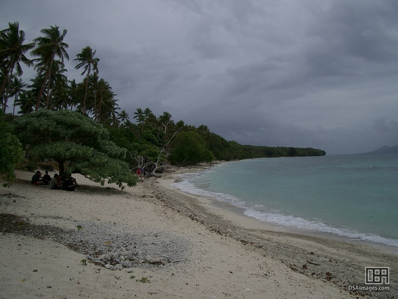 The beach we stopped at for afternoon tea in Vanuatu