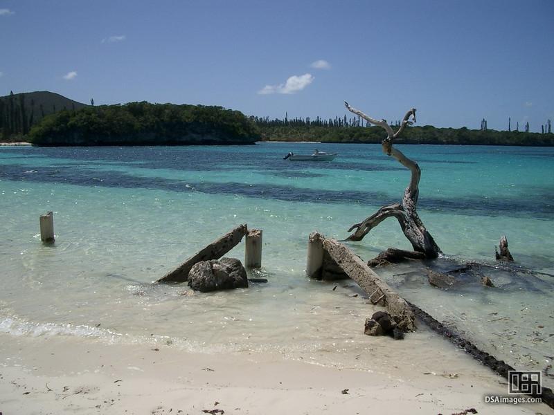 Kanu bay on Isle of Pines