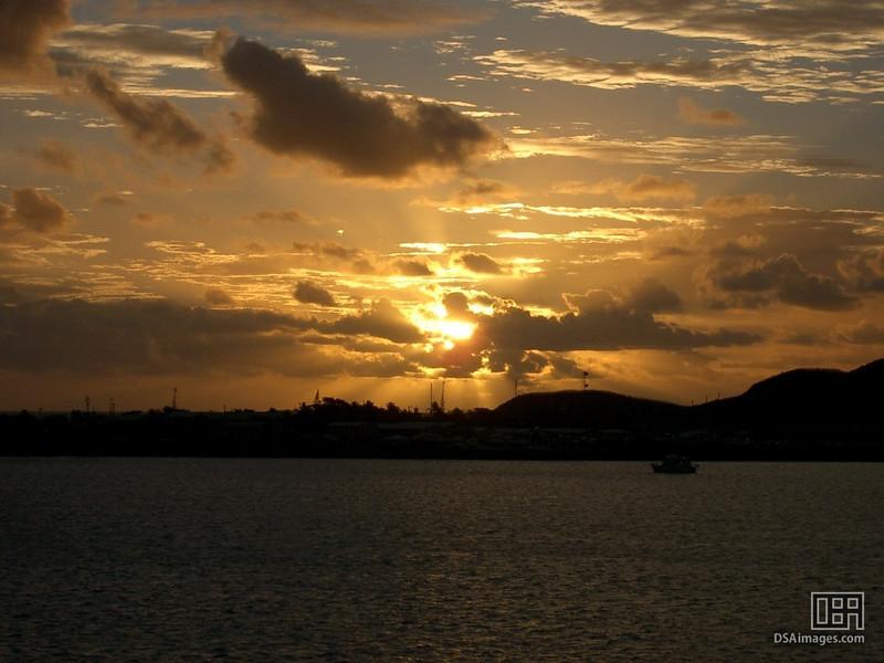 Sunset in Noumea, New Caledonia
