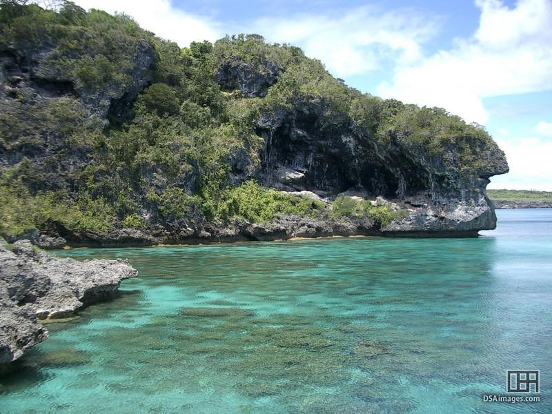 The Cliffs of Jokin, Lifou, New Caledonia