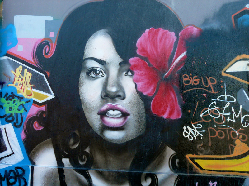 Saturday's scene: New Caledonia graffiti