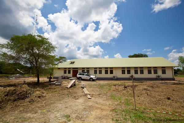 WFP Bor new office