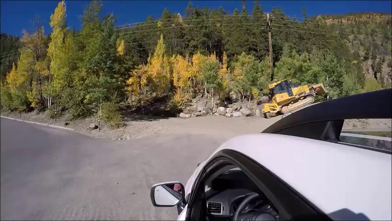 Georgetown, CO uphill (video sped up 2x) music -MOBY