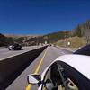 Georgetown up to Eisenhower Tunnel (2x speed, music John Denver Rocky Mountain High)