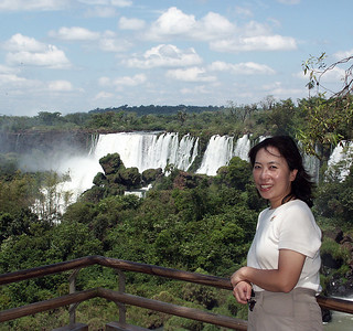 The falls are part of a singular practically virgin jungle ecosystem protected by Argentine and Brazilian national parks on either side of the cascades. Two thirds of the falls are on the Argentinian side of the river.