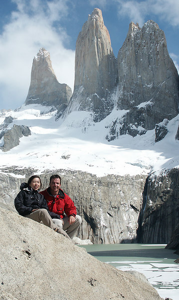 The Torres del Paine are the highest sheer mountain drop in the world.