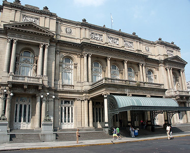 Buenos Aires Teatro Colon (build in 1849). Best deals can be found at the Monday evening performance.