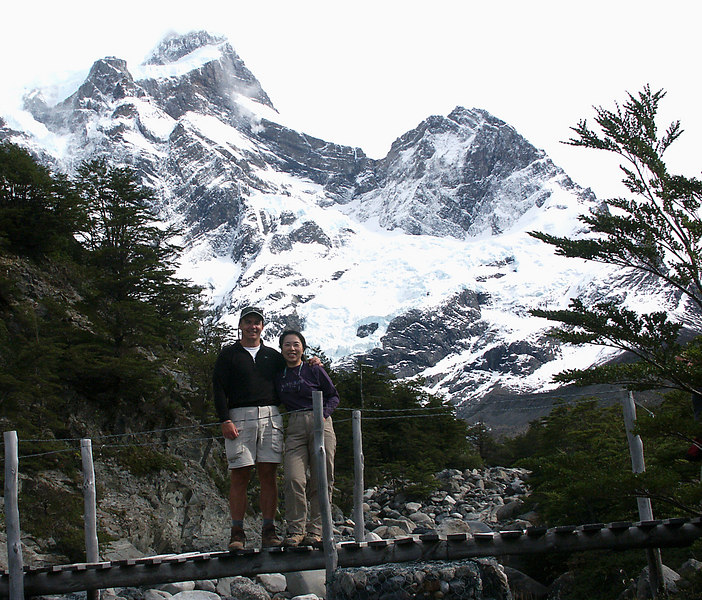 On the third day, we hiked over 12 miles to reach Refugio Chileno. The views were spectacular.