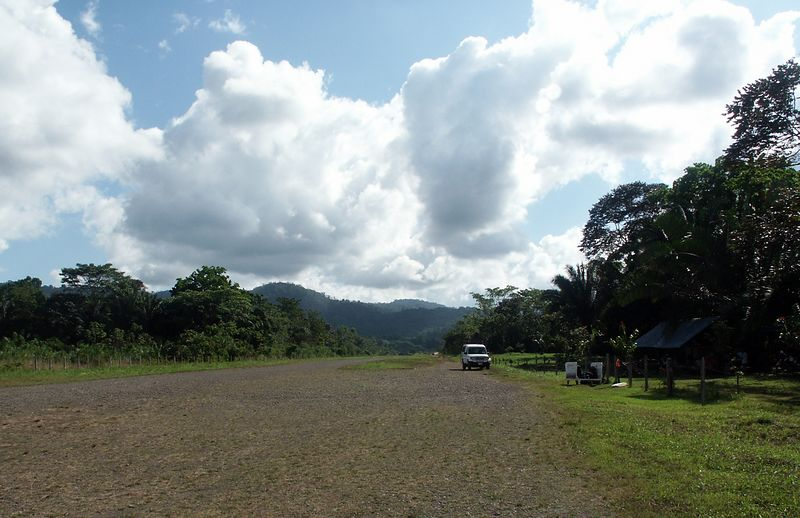 "Drake Bay runway. Costa Rica is truly amazing! <br /> ""Pura Vida"" (enjoy life)!"