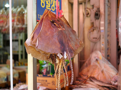 Dried Fish Wholesale Market in Busan