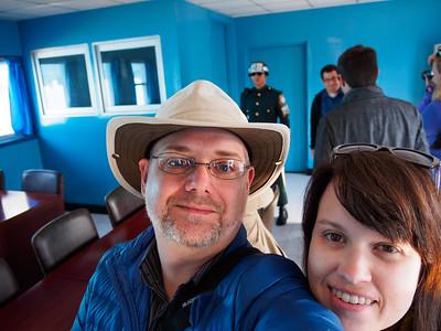 Selfie in North Korea