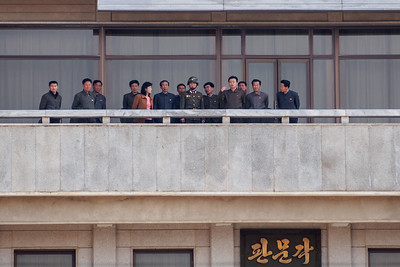 A rare North Korean tour group