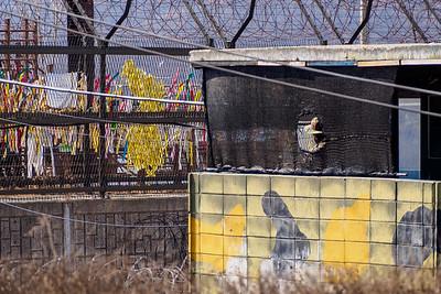 South Korea soliders at Imjingak Park