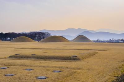 The royal tombs of Gyeongju