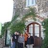 Our group in the town of Eze.