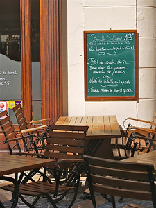 Cafe. Avignon, France.