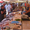 Fish stall in the market place