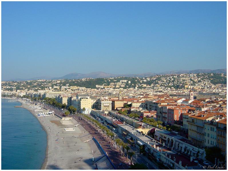 The beaches of Nice