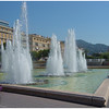 Fountain along Boulevard Jean Jaures in Nice