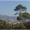 An early morning view of Nice from Parc Mt. Boron