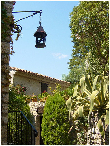 A garden in Eze.