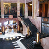 The lobby, restaurant and second floor of the Palacio de Bellas Artes. April, 2009. Shared by Walter.