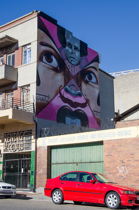 So many murals in Johannesburg