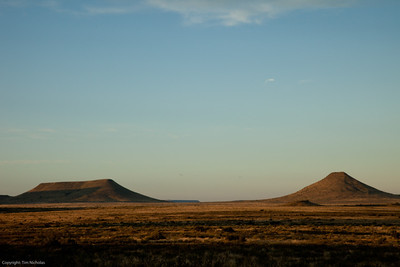 Karoo early morning, Kraankuil