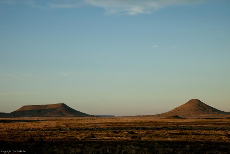 Karoo early morning, Kraankuil
