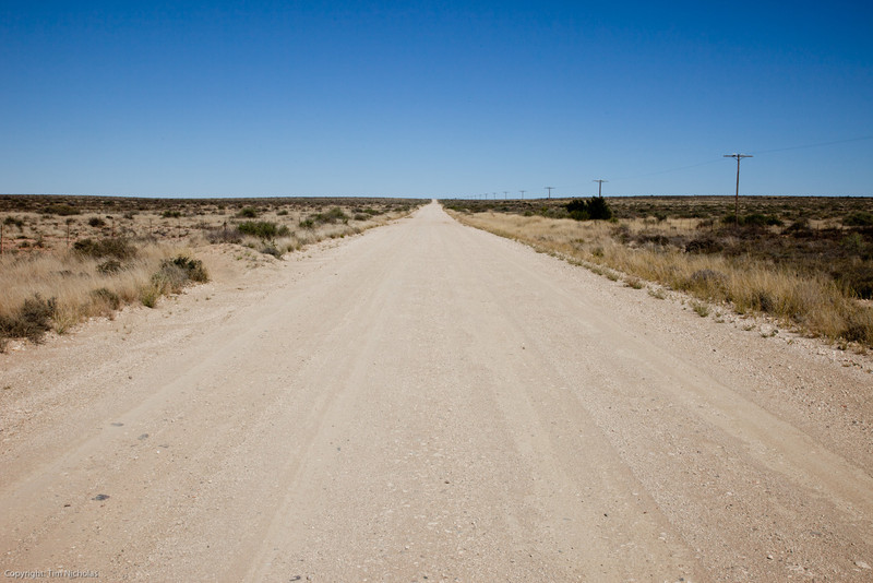 Karoo open road