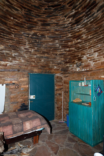 Osfontein Corbelled House inside