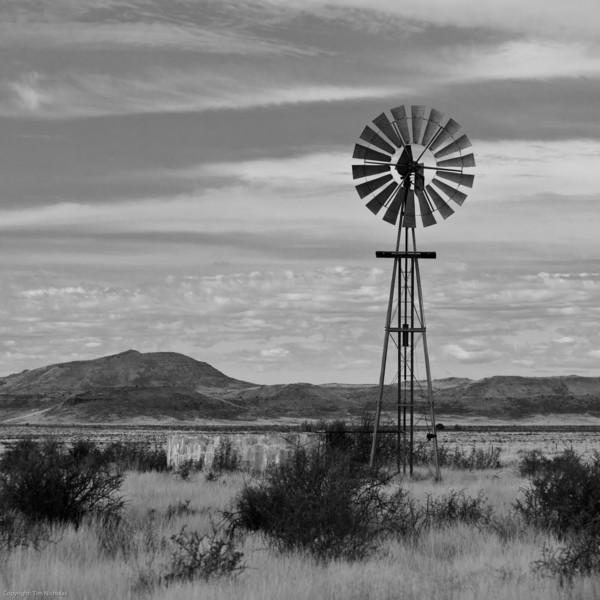 Karoo Windmill N1 Three Sisters
