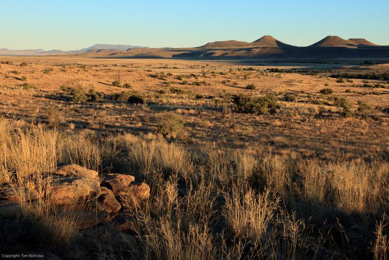 Taaiboschfontein Guest Farm Sundown over open Karoo