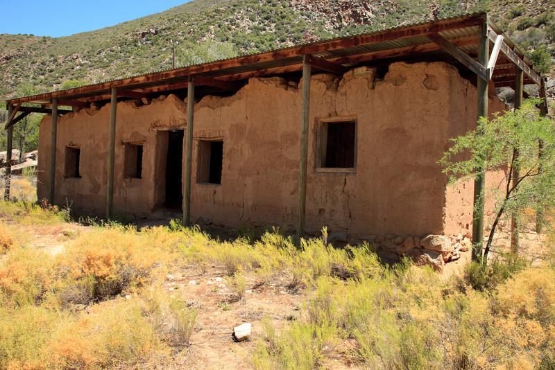 Original mud structures of Gamkaskloof (Die Hel)
