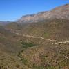 Gamkaskloof (Die Hel): winding road through the Swartberg Mountains