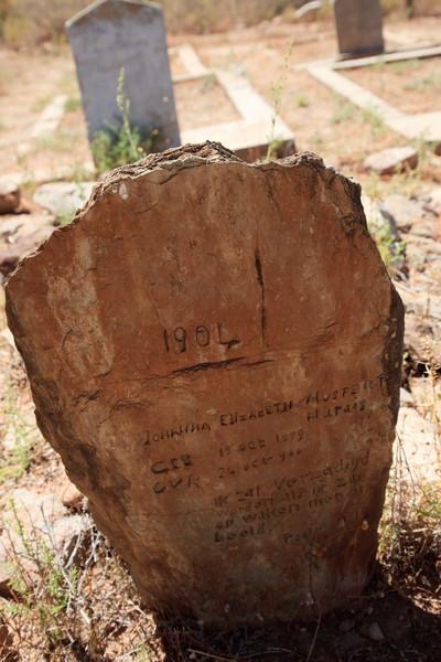 Gamkaskloof (Die Hel) cemetery
