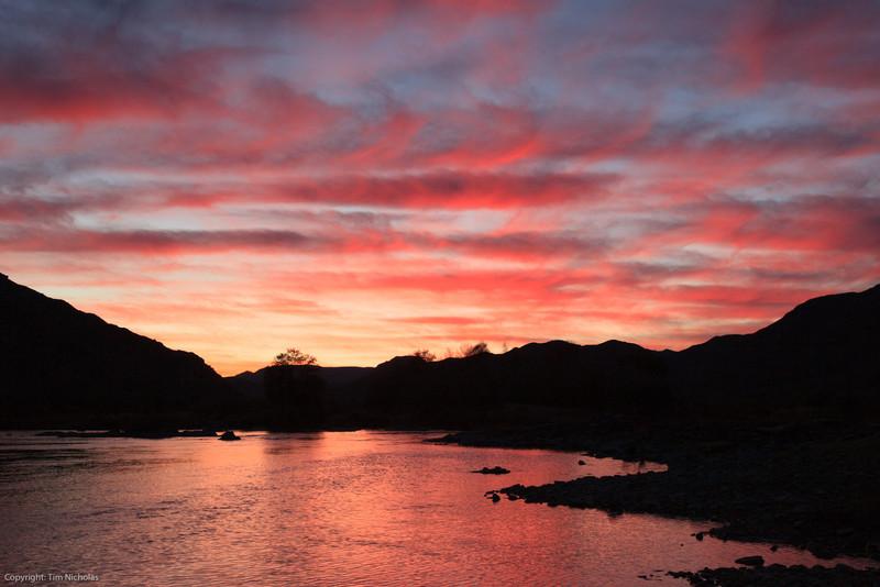 Sunrise at Richtersberg campsite