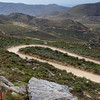 Swartberg pass, view over the plateau