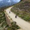 Swartberg Pass, climbing up into the pass