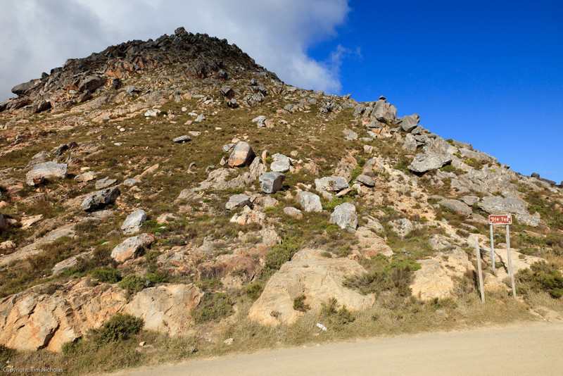 Swartberg Pass, the top