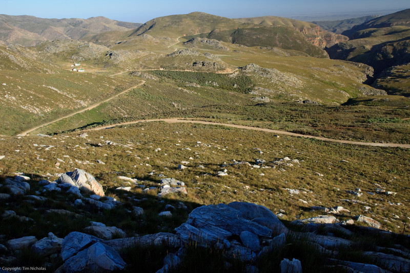 Swartberg pass, winding road