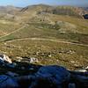 Swartberg pass, winding road