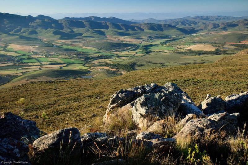 Swartberg Pass overlooking Matjiesrivier valley