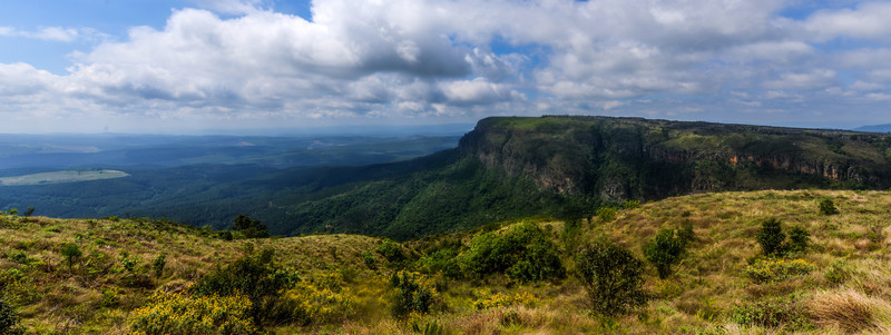 Panoramic vista from God's Window - Blyde River Canyon - Mpumalanga - South Africa