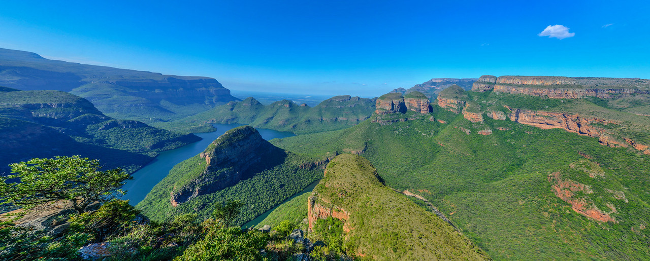 Blyde River Canyon and The Three Rondavels