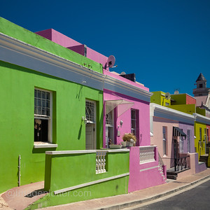 Bo Kaap Malay Quarter, CapeTown, South Africa